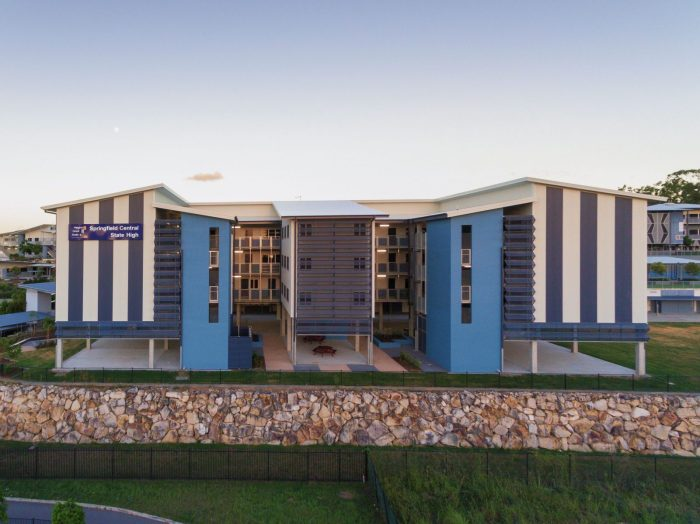 Springfield SHS SLC by biscoe wilson   architects