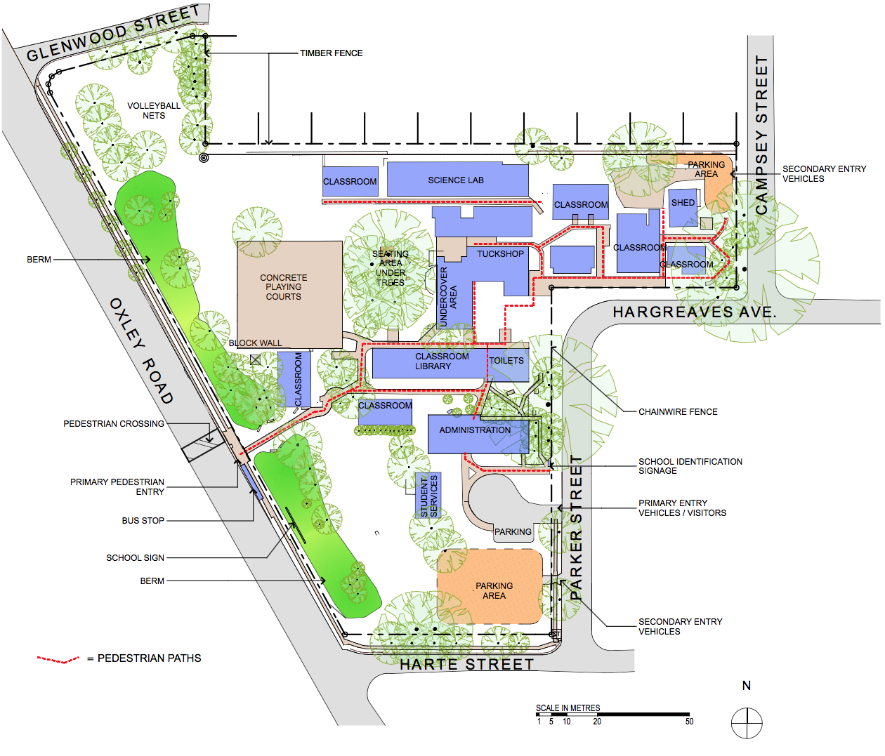 Milpera State High School Masterplan by Biscoe Wilson Architects
