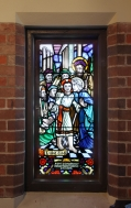 St Augustine's Stained Glass windows by William Bustard and photographed by Aperture Photography