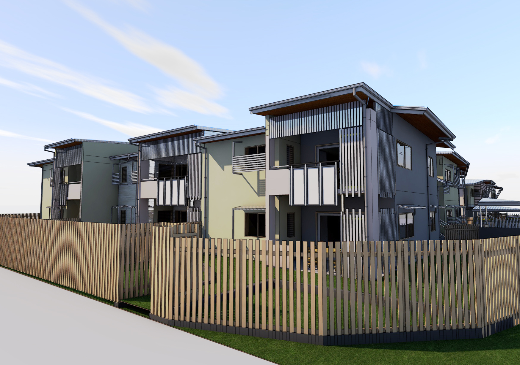 Birkdale Social Housing Project by BWA