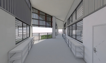 Mt Gravatt State High School SLC by biscoe wilson | architects