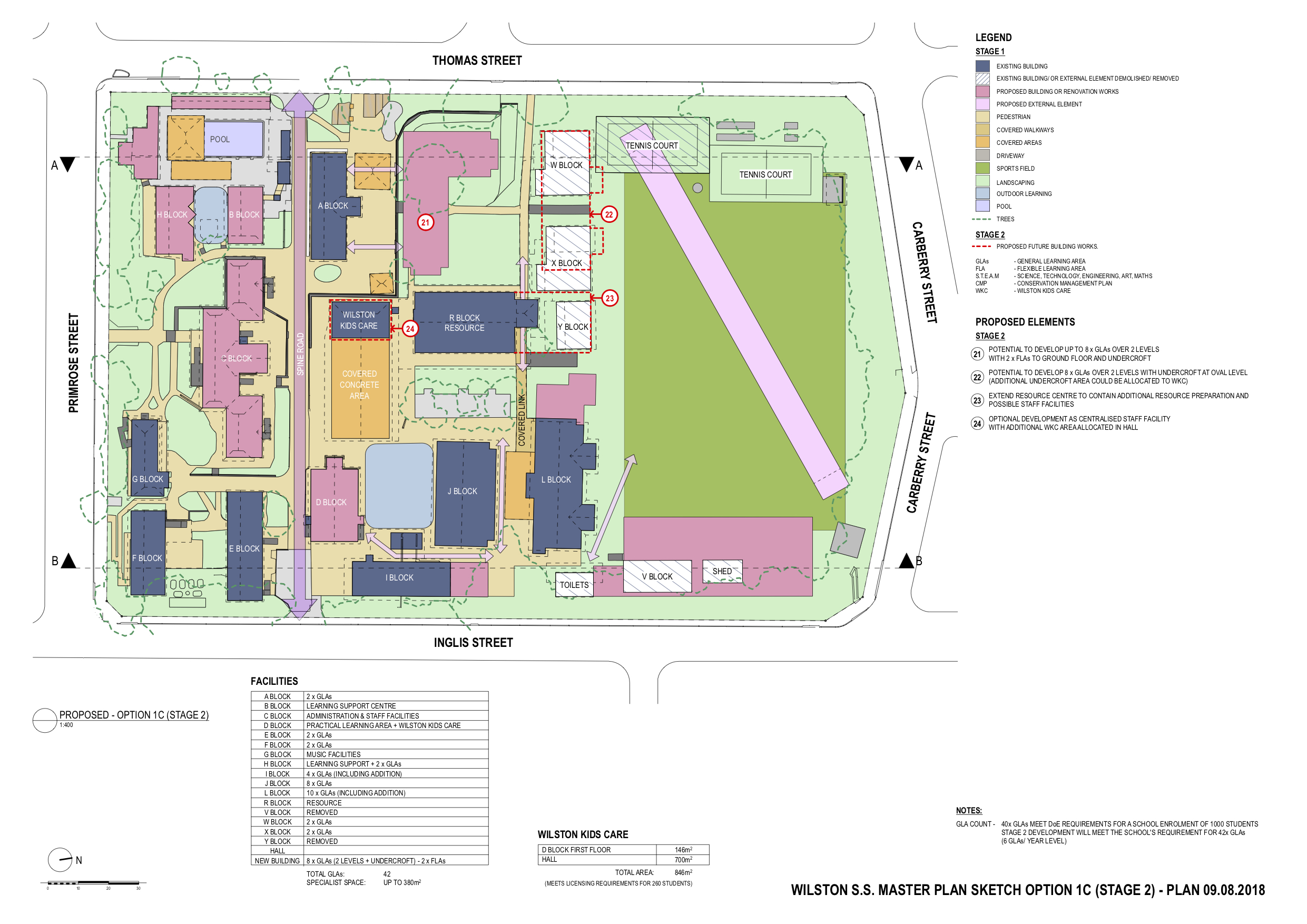 Wilston State School Master Plan by biscoe wilson | architects