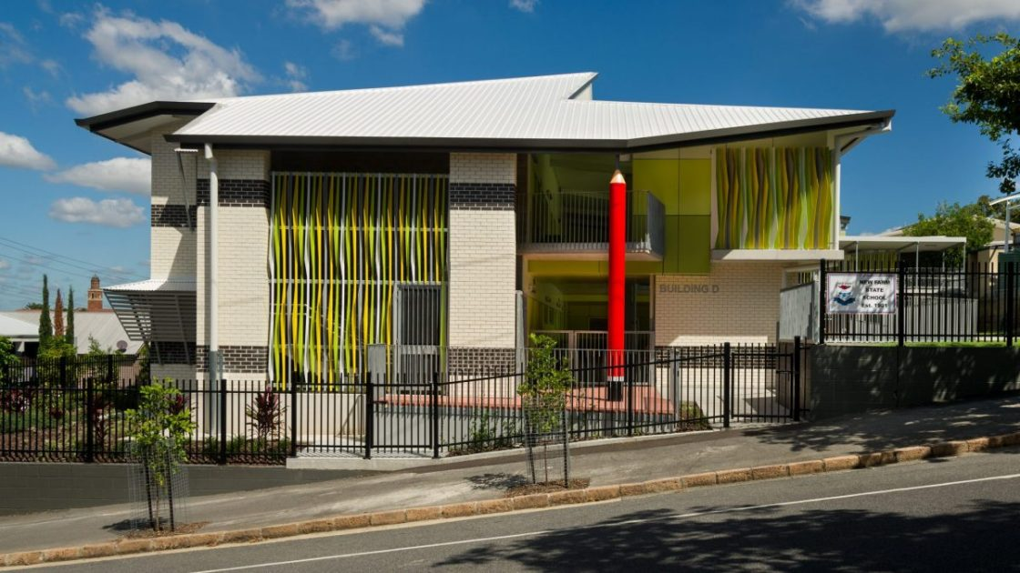 New Farm State School 7 GLA building by biscoe wilson | architects