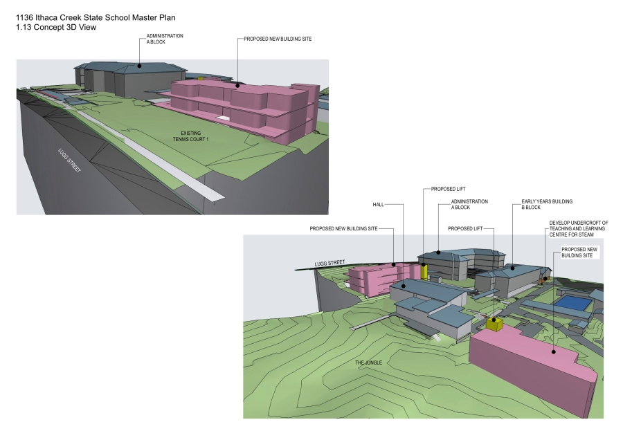 Ithaca Creek State School Master Plan by biscoe wilson | architects