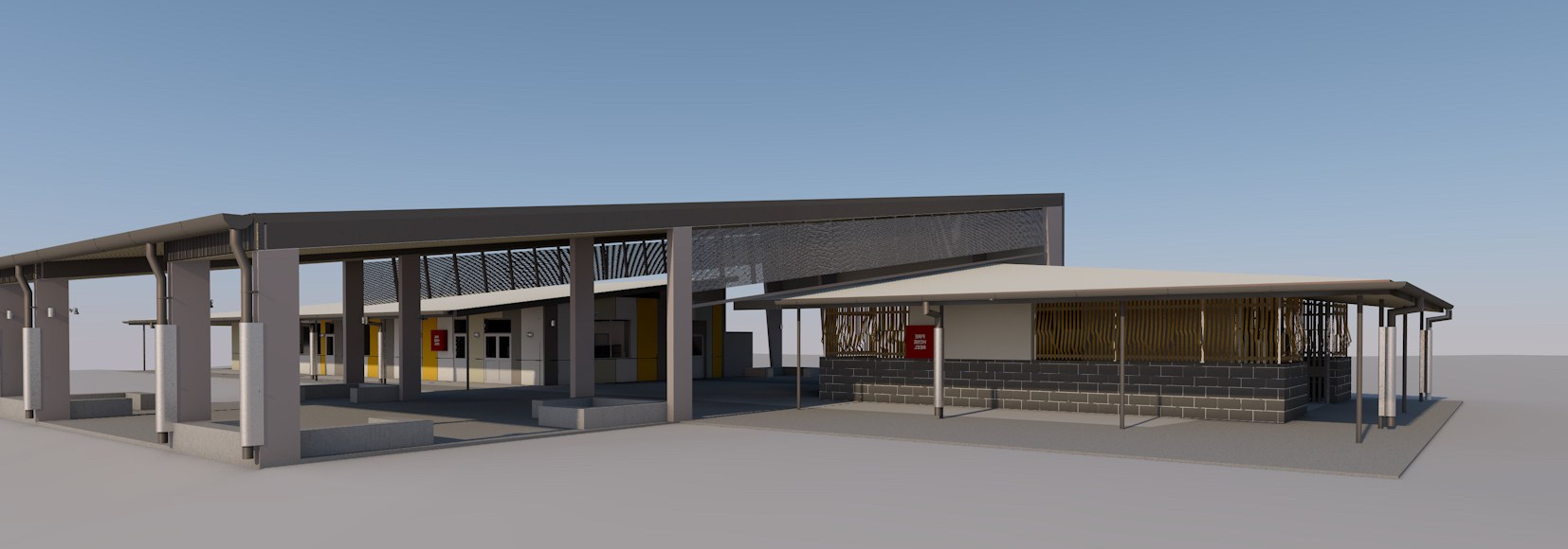 Calliope State High School - Canteen and Amenities